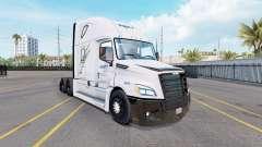Скин Swift на тягач Freightliner Cascadia