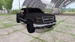 Chevrolet Silverado 2500 HD Crew Cab для Farming Simulator 2017
