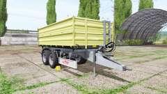 Fliegl TDK 160 v2.0 для Farming Simulator 2017