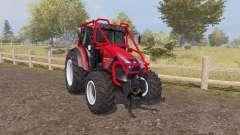 Lindner Geotrac 94 forest v1.2 для Farming Simulator 2013