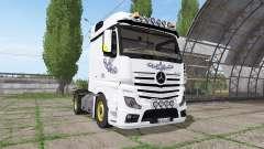 Mercedes-Benz Actros LS (MP4) для Farming Simulator 2017