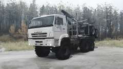 КАМАЗ 65222 для MudRunner
