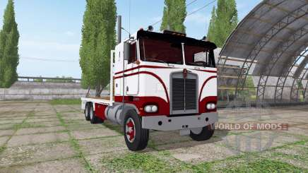 Kenworth K100 flat deck для Farming Simulator 2017