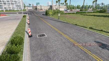 Realistic Roads для American Truck Simulator