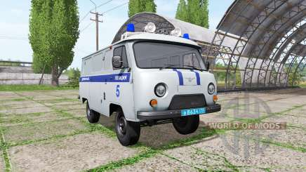 УАЗ 3909 Полиция для Farming Simulator 2017