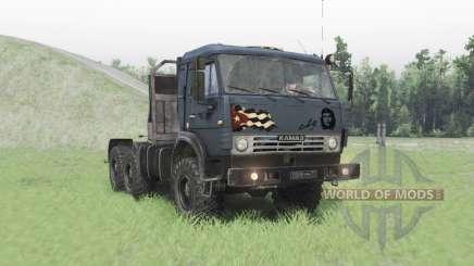 КамАЗ 53504 для Spin Tires
