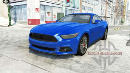 Ford Mustang GT 2015 для BeamNG Drive