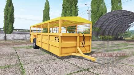 Richard Western CT8 для Farming Simulator 2017