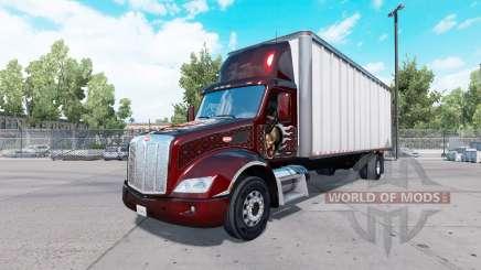 Peterbilt 579 box truck для American Truck Simulator