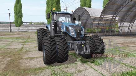 New Holland T8.435 tuning v1.2 для Farming Simulator 2017