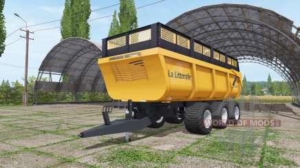 La Littorale C 390 v1.1 для Farming Simulator 2017
