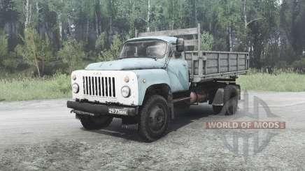 ГАЗ 53 для MudRunner