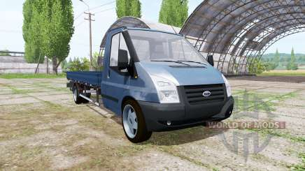 Ford Transit pickup 2006 v2.0 для Farming Simulator 2017