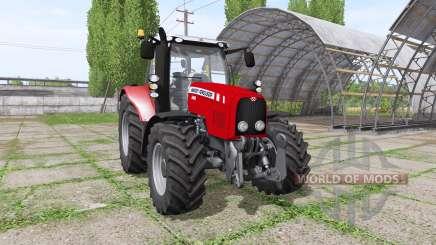 Massey Ferguson 5465 для Farming Simulator 2017