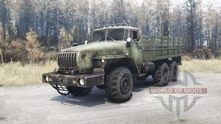 Урал 4320-10 для MudRunner