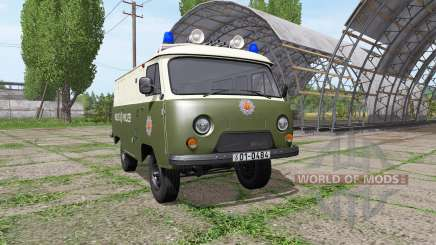 УАЗ 3741 полиция ГДР для Farming Simulator 2017