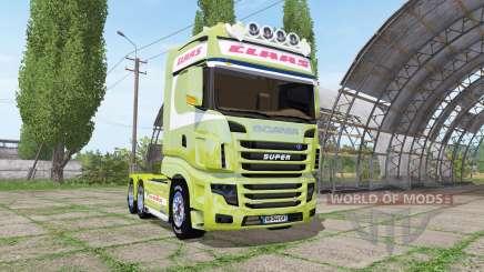 Scania R700 Evo CLAAS для Farming Simulator 2017