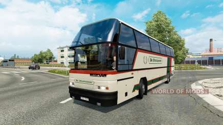 Bus traffic v1.9 для Euro Truck Simulator 2
