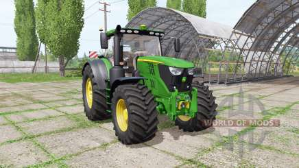 John Deere 6155R v1.0.0.2 для Farming Simulator 2017