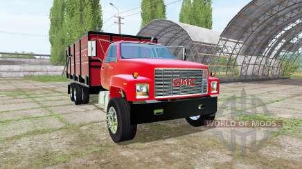 GMC C7500 dump truck для Farming Simulator 2017