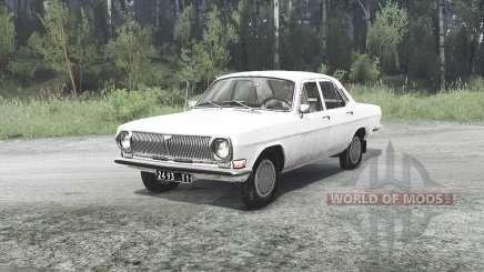 ГАЗ 24-10 Волга для MudRunner
