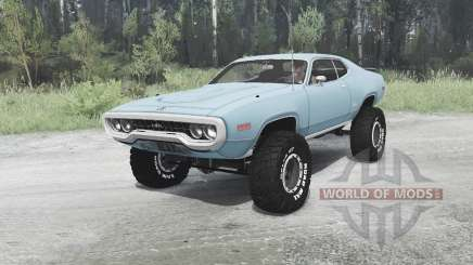 Plymouth GTX 1971 (GR2-RS23) off-road для MudRunner