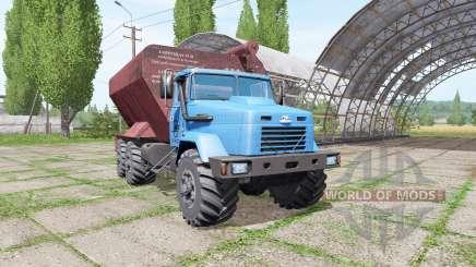 КрАЗ 63221 ЗСК v2.0 для Farming Simulator 2017