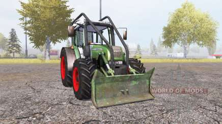 Fendt 209 S forest v1.32 для Farming Simulator 2013