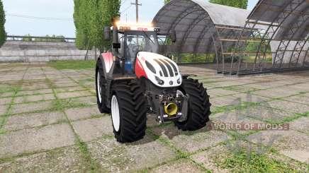 Steyr Terrus 6300 CVT v3.0 для Farming Simulator 2017