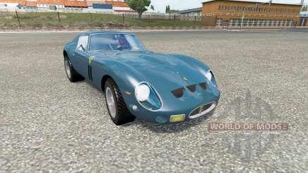 Cars Test Drive Unlimited 2 in traffic v1.3 для Euro Truck Simulator 2