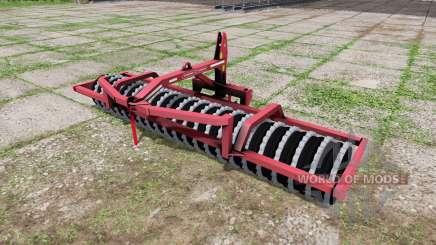 Gregoire-Besson front-pakker для Farming Simulator 2017