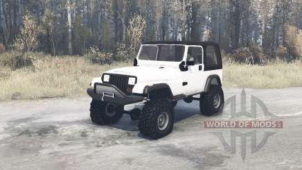 Jeep Wrangler (YJ) для MudRunner