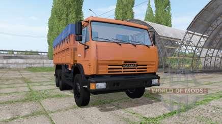 КАМАЗ 45143 v1.2 для Farming Simulator 2017