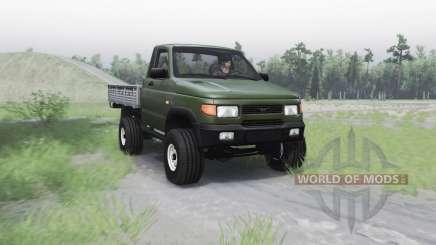 УАЗ 2360 для Spin Tires