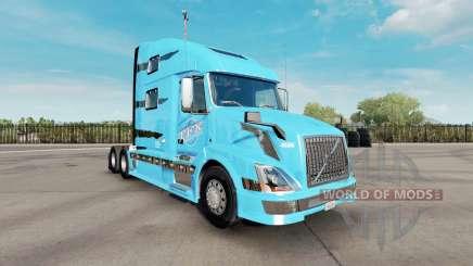 Скин TFX International на тягач Volvo VNL 780 для American Truck Simulator