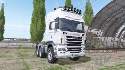 Scania R730 v1.0.2 для Farming Simulator 2017