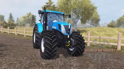New Holland T7.220 для Farming Simulator 2013