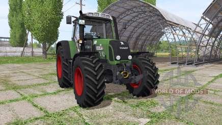 Fendt 820 Vario TMS dynamic hoses v1.1 для Farming Simulator 2017