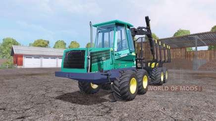 John Deere 1110D v1.1 для Farming Simulator 2015