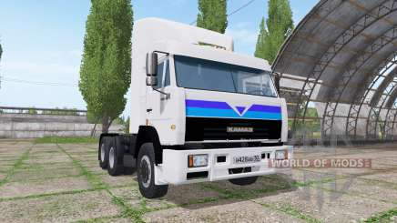 КАМАЗ 54115 v4.5 для Farming Simulator 2017