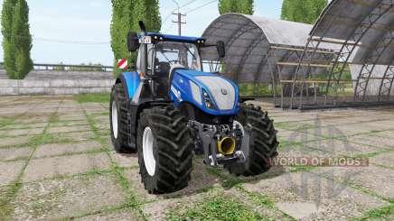 New Holland T7.315 BluePower для Farming Simulator 2017