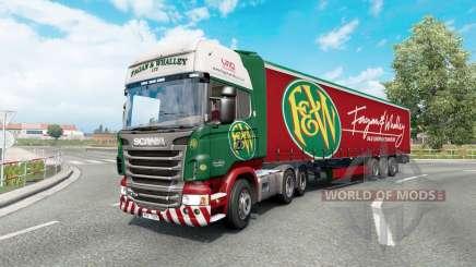 Painted truck traffic pack v3.3 для Euro Truck Simulator 2