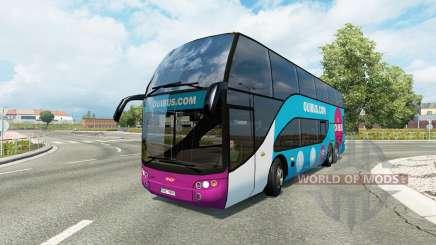 Bus traffic v1.8.2 для Euro Truck Simulator 2
