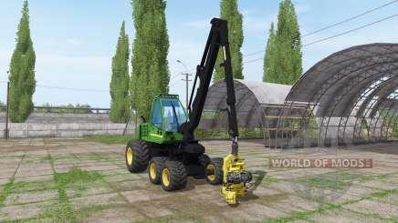 John Deere 1070d для Farming Simulator 2017