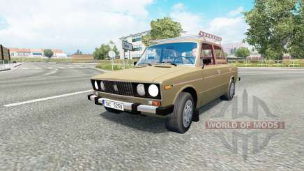 Russian traffic pack v1.7.1 для Euro Truck Simulator 2