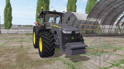 John Deere 8295R black edition для Farming Simulator 2017