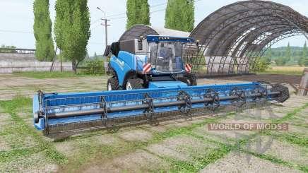 New Holland CR10.90 RowTrac blue для Farming Simulator 2017