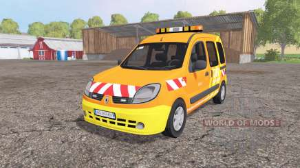 Renault Kangoo DIR v1.1 для Farming Simulator 2015