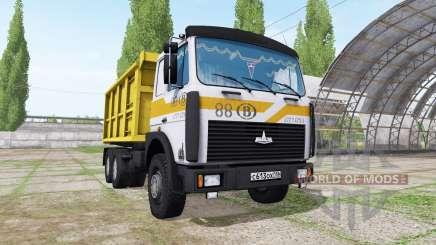 МАЗ 5516 v1.1 для Farming Simulator 2017