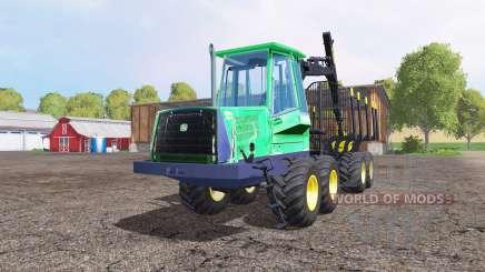 John Deere 1110D для Farming Simulator 2015